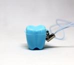 ZĄBEK - ząbki na mleczaki ze sznureczkiem - niebieski