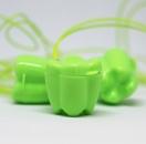 ZĄBEK - ząbki na mleczaki ze sznureczkiem - zielony